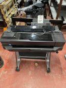 HP T520 Designjet large format printer