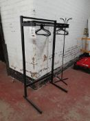 Coat Stand with Shelf Above
