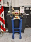 "SIP Industrial 10"" bench grinder, 250mm x 25mm wheel (1), Item no. 07645, Year 2018/17, Serial no."