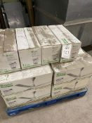 """Quantity of Xpelair Whispair NWAN48 48""""/1200mm ceiling sweep fans, boxed, as lotted on one pallet"""