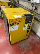 Kaeser HPC SK19 PLUSAIR packaged air compressor, Serial no. 1002. NB: The purchaser must ensure this