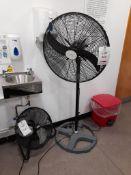 """Hydor HPFA650 26"""" industrial fan and Sealy industrial fan"""