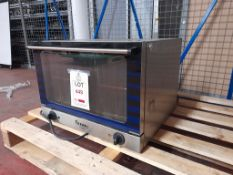 Hendi convection oven, 2500W model number 225950