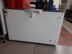 Gram CF45S chest freezer, s/n 50360392
