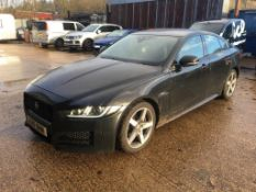 Jaguar XE R-Sport 4 door saloon car (17 plate)