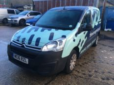 Citroen Berlingo 850 Enterprise HDI sign wrapped panel van (16 plate)