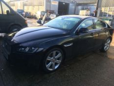 Jaguar XE R-Sport 4 door saloon car (16 plate) non-runner