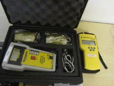 Vermasun surface resistance meter, model 222630, serial no. 1248001 and a Druck DPI 705 IS digital