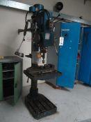 Elliott 4E pillar drill, type/serial no. BEC 091586/449, spindle rpm 73-1065, manual control drill -