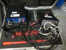 Chemical Reaction Services constant current voltage test meter