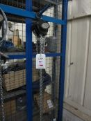 Road Crew 1 tonne chain block and hoist, model VCD, serial no. 61116179 (2016) (Please Note: We do