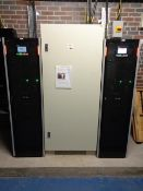 Eaton Dual UPS system, to include two Eaton 93PS-30 (40)-40-0-58-6 UPS, rating 30kva (each),