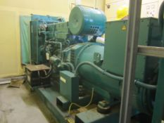 Petbow 233kva generating set, type AHCF186, serial no. 69157, control system type PH250 (1994), with
