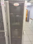Compaq server cabinet (ref. 5/25) and contents, to include HP Proliant ML350 Gen 9 (product no.