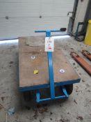 Pallet Trucks & Trolleys mobile draw Trailer, model Cheek03-P, UDL 1000kg, serial no. 1212021