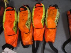 Four Drager PP10 saver emergency escape breathing apparatus