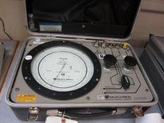 Wallace & Tiernan FA-145930B precision pneumatic calibrator, serial no. I-20462
