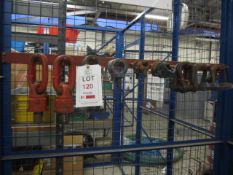 Quantity of assorted lifting shackles (Please Note: We do not hold any documentation for this