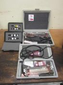 Two Dwyer included minometers, -0.2 to 2 inches and 0.05 to 0.50 inches of water to be used for