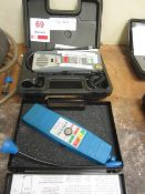 TIF 5650A automatic halogen leak detector, serial no. 0023956 and a Anglo Nordic R134a & R32 leak