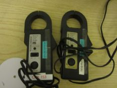 Two RS Components CT233 600 AC DC current clips