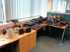 Quantity of various keyboards, mouse, speakers and Sony cassette/radio