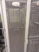 Compaq server cabinet (ref. 5/18) and contents to include HP Proliant ML350 Gen 9 (product no.
