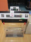Bigneat Captair type 840C filtration fume cupboard, no: 84.2587