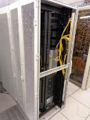 Rittal rack cabinet and contents to include Cisco Catalyst 6500-E and assorted rack switches, etc.