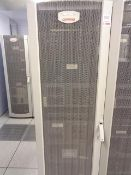 Compaq server cabinet (ref. 5/27) and contents, to include Proliant ML350 Gen 9, HP Proliant DL370