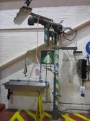 Hughes emergency chemical safety shower, model STD-H-60, serial no. FS 5395, 240v