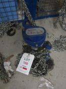 Liftingear HS-S 2 tonne chain hoist, serial no. 4720140 (2014) (Please Note: We do not hold any