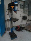 Draper HD25/12BF pillar drill, serial no. 99060020, capacity 25mm, Taper MT3 speeds 12, rpm 150- -