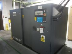 Atlas Copco ZR145 rotary screwair compressor, serial no. AIF065864 (00), oil free air, Allen Bradley