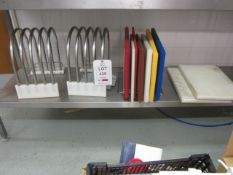 Assorted chopping boards and stands