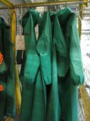 Quantity of Chemmantor chemical protection rinse dry body suits & hood