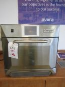 Merry Chef bench top microwave oven, serial no. 1412213090247, 580 x 650mm x H600mm - Disconnection