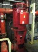 Armstrong electric pump, type VAB251/5, serial no. 181267, 50Hz, 280kw, with fire pump controller (