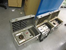 Two Haven Automatics Tempcal 300 and a Tempcal 40 Thermocouple and RTD calibrator