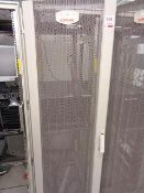 Compaq server cabinet (ref. 5/08) and contents, to include HP Proliant ML350 Gen 9 (product no.