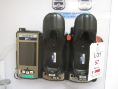 Rae gas detection system to include Auto Rae 2 twin part calibration and bump station, 10 Rae QRAE 3