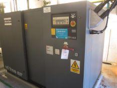 Atlas Copco ZR145 rotary screw air compressor, model AIF 032753 oil free air, Sprecher & Schuh
