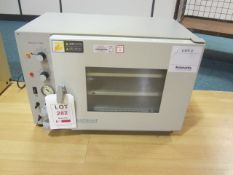 Gallenkamp OVA031.XX1.5 vacuum oven, s/n: SG98/03/236, 1000w