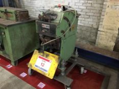 Cevisa CHP-21G bevelling machine no. 2210, Year 2008