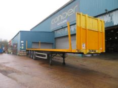 Montracon trailer 45 ft YOM: 2007