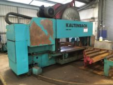 Kaltenbach HDM1432 mitre circular sawing machine, Year: 2007