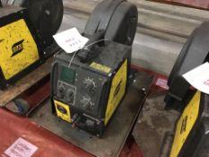 ESAB Feed 304w wire feeder s/n 419-432-2670 (advised faulty)