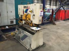Geka Hydracrop 80 metal worker, Year: 2008