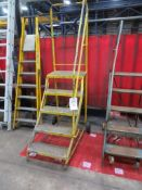 Stepladder, open sided, with r/hand side rail