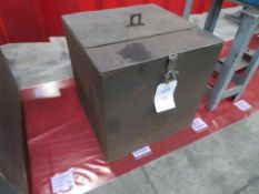 Steel company made site box